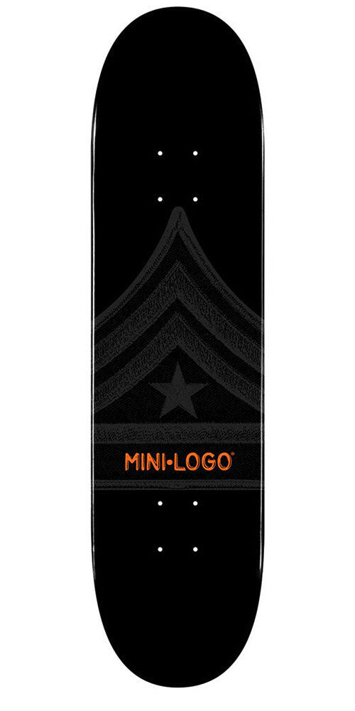 Mini Logo - Black Quartermaster - 7.75 - Skateboard Deck