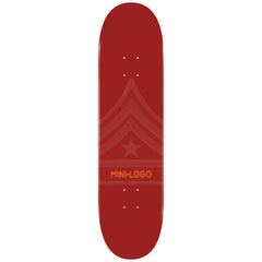 Mini Logo - Maroon Quartermaster - 7.625 - Skateboard Deck