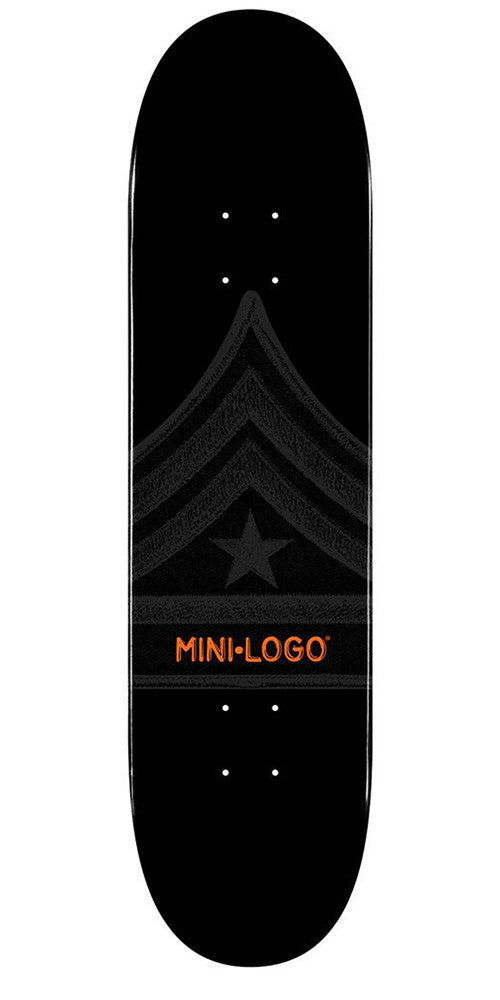 Mini Logo - Black Quartermaster - 8.0 - Skateboard Deck