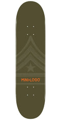 Mini Logo - Green Quartermaster - 8.25 - Skateboard Deck