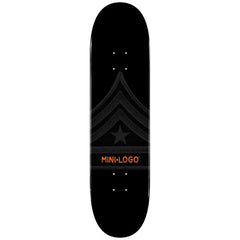 Mini Logo - Black Quartermaster - 8.25 - Skateboard Deck