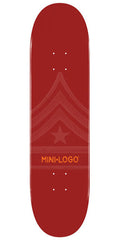 Mini Logo - Maroon Quartermaster - 7.88 - Skateboard Deck
