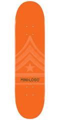 Mini Logo - Orange Quartermaster - 7.88 - Skateboard Deck