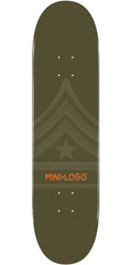 Mini Logo - Green Quartermaster - 7.88 - Skateboard Deck