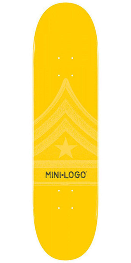 Mini Logo - Yellow Quartermaster - 7.88 - Skateboard Deck