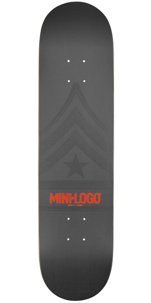 Mini Logo - Grey Quartermaster - 8.0 - Skateboard Deck