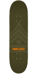 Mini Logo - Green Quartermaster - 8.5 - Skateboard Deck
