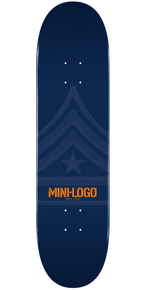 Mini Logo - Navy Quartermaster - 8.5 - Skateboard Deck