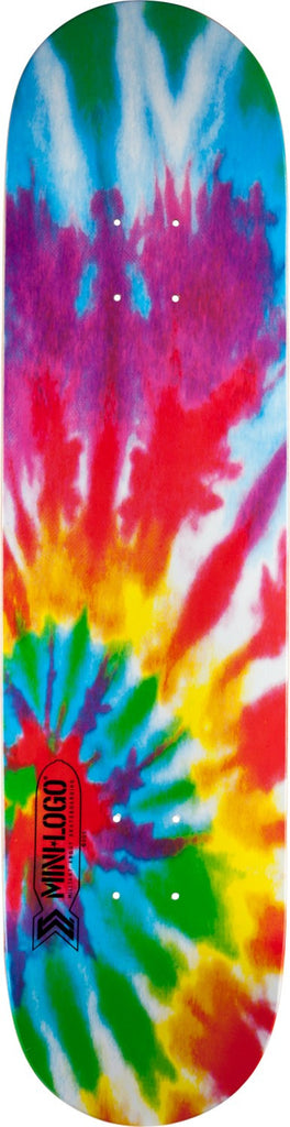 Mini Logo Small Bomb - Tie Dye - 7.625in x 31.625in - Skateboard Deck