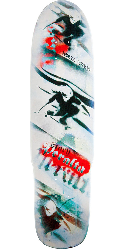 Powell Peralta Stacy Hipster 2 - White - 8.5 - Skateboard Deck