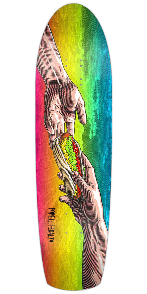 Powell Peralta Funshape Hands - Multi - 8.4 - Skateboard Deck
