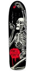 Powell Peralta Funshape Hippie Skeleton - Black - 8.4 - Skateboard Deck