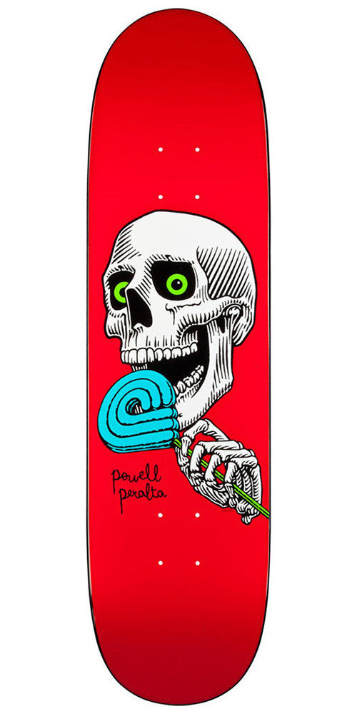 Powell Peralta Lolly P - Red - 8.125in x 31.25in - Skateboard Deck