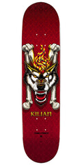 Powell Peralta Kilian Martin Wolf 4 - Red - 7.75in x 31.75in - Skateboard Deck