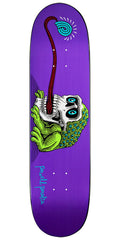 Powell Peralta Frog Skull - Purple - 8.0in x 31.25in - Skateboard Deck