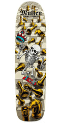 Powell Peralta Bones Brigade Rodney Mullen Chess - White - 7.4in x 27.625in - Skateboard Deck