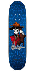 Powell Peralta Kevin Harris Mountie - Navy - 8.0in x 31.25in - Skateboard Deck