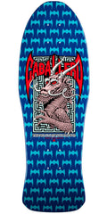 Powell Peralta Bones Brigade Steve Caballero 6th Series Reissue - Blue - 10.0in x 30.0in - Skateboard Deck