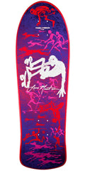 Powell Peralta Bones Brigade Lance Mountain 6th Series Reissue - Purple - 10.0in x 30.75in - Skateboard Deck