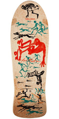 Powell Peralta Bones Brigade Lance Mountain OG Future Primitive Reissue - Natural - 9.94in x 30.0in - Skateboard Deck