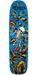 Powell Peralta Bones Brigade Rodney Mullen 6th Series Reissue - Blue - 7.4in x 27.625in - Skateboard Deck