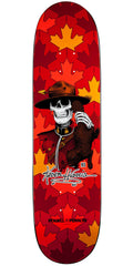 Powell Peralta Kevin Harris Mountie - Red/Orange - 8.0in x 31.25in - Skateboard Deck
