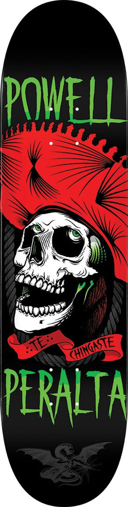 Powell Peralta Te Chingaste - Red/Black - 8.0in x 31.45in - Skateboard Deck
