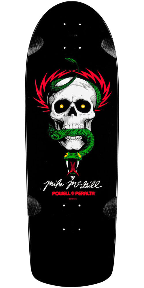 Powell Peralta Mike McGill OG Skull and Snake - Black - 10in x 31.125in - Skateboard Deck