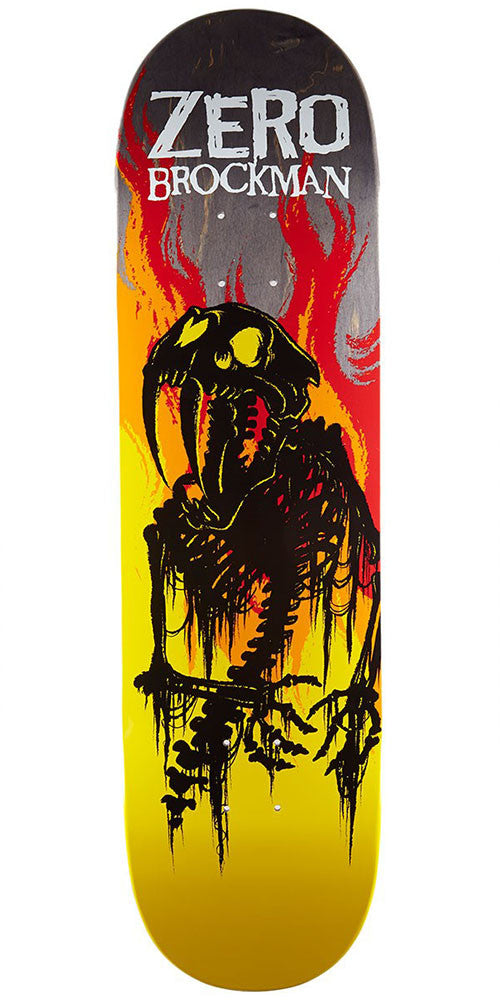 Zero James Brockman From Hell Series Impact Light - Multi - 8.5in - Skateboard Deck