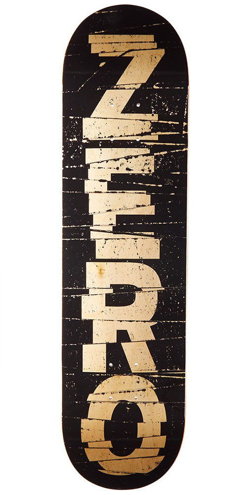Zero Cutler HYB - Black/Natural - 8.0in - Skateboard Deck