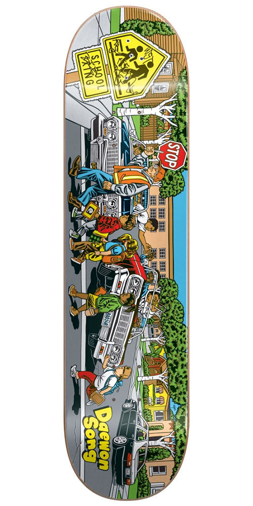Almost Daewon Song Low Riders R7 - Multi - 8.0in - Skateboard Deck