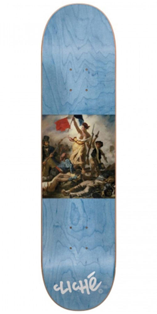 Cliche Liberte Team Board R7 - Blue - 8.0in - Skateboard Deck