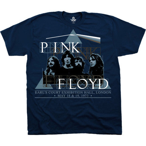 Pink Floyd London Live - Blue - Band T-Shirt