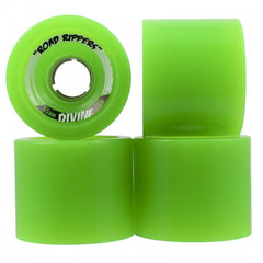 Divine Road Rippers - Green - 65mm - Skateboard Wheels (Set of 4)