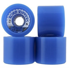 Divine Road Rippers - Blue - 70mm - Skateboard Wheels (Set of 4)