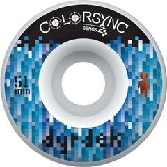 Alien Workshop Colorsync II Logo - White - 51mm - Skateboard Wheels (Set of 4)