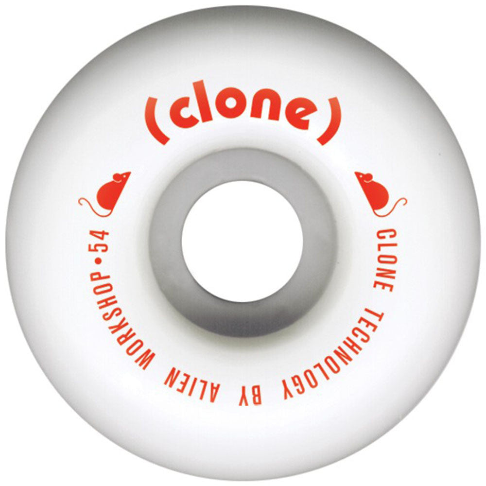 Alien Workshop Conical Clone - White - 54mm - Skateboard Wheels (Set of 4)