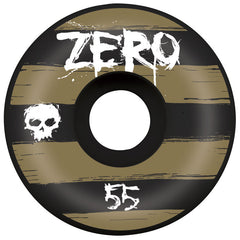 Zero Flagship - Black - 55mm - Skateboard Wheels (Set of 4)