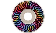 Spitfire Classic Tie Dye - White - 52mm - Skateboard Wheels (Set of 4)