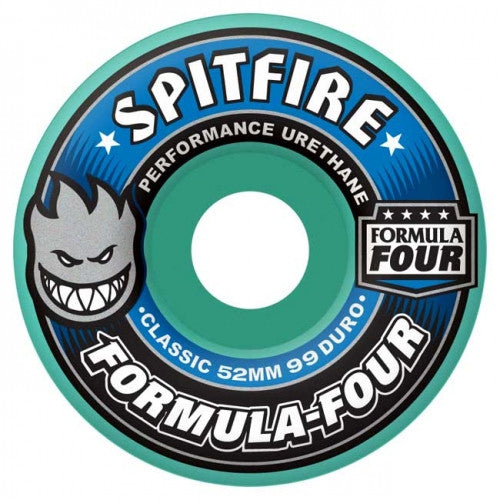 Spitfire Formula Four Classic - Mint - 51mm 99a - Skateboard Wheels (Set of 4)