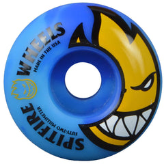 Spitfire Bighead Code - Blue Swirl - 52mm 99a - Skateboard Wheels (Set of 4)