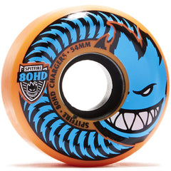 Spitfire 80HD Charger Conical - Orange - 54mm 80a - Skateboard Wheels (Set of 4)
