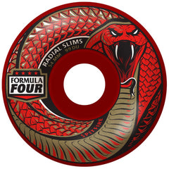 Spitfire Formula Four Radial Slim - Red Death - 54mm 99a - Skateboard Wheels (Set of 4)