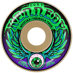 Spitfire Formula Four Kennedy Dazed - White - 53mm 99a - Skateboard Wheels (Set of 4)