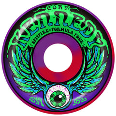 Spitfire Formula Four Kennedy Dazed - Purple Swirl - 52mm 99a - Skateboard Wheels (Set of 4)