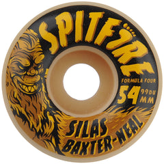 Spitfire Formula Four Silas Skunk Ape - White - 54mm 99a - Skateboard Wheels (Set of 4)