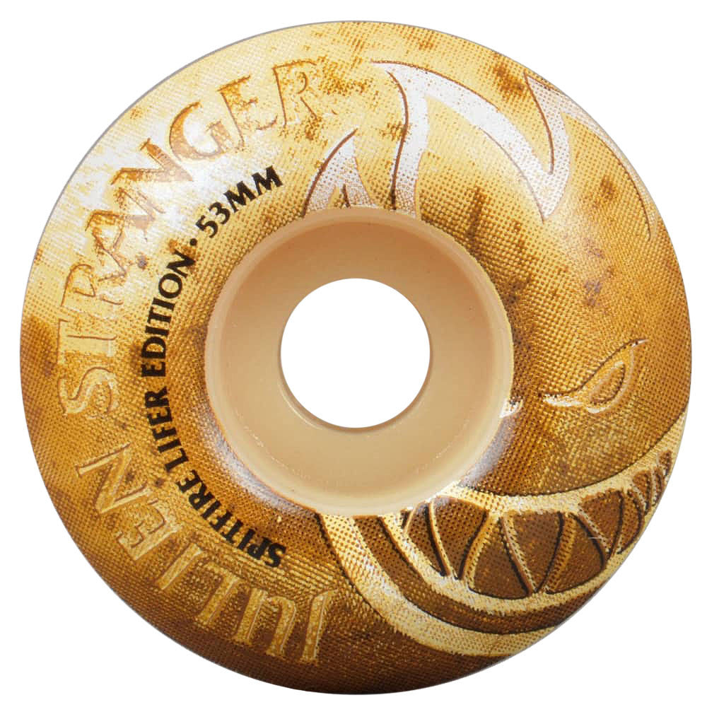 Spitfire Formula Four Classic Lifers  - Gold - 53mm 99a - Skateboard Wheels (Set of 4)