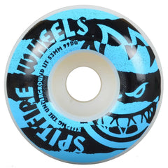 Spitfire Shredded - White/Blue - 53mm 99a - Skateboard Wheels (Set of 4)