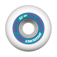 Pig Billy Marks Pro Speedline - White - 52mm - Skateboard Wheels (Set of 4)