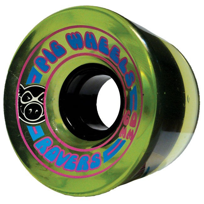 Pig Rover - Green - 60mm 78a - Skateboard Wheels (Set of 4)